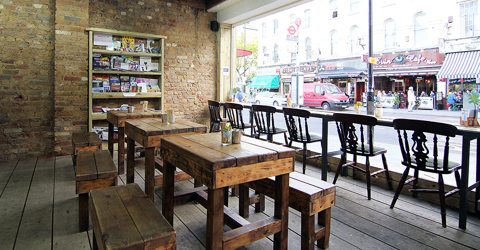 Harvest E8 London's best coffee shops